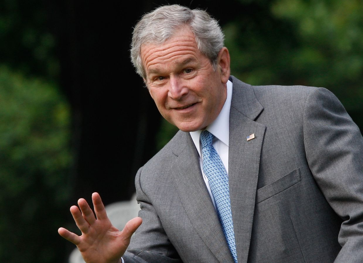 president bush signed the second largest tax hike in history