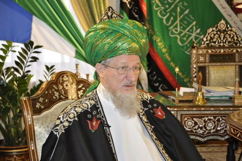 Верховный муфтий, председатель Центрального духовного управления мусульман России шейх уль-ислам Талгат хазрат Таджуддин