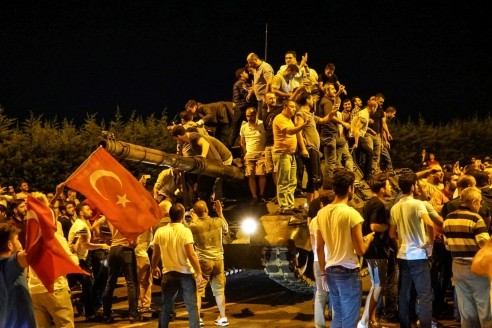 Переворот в Турции. 2016 г.