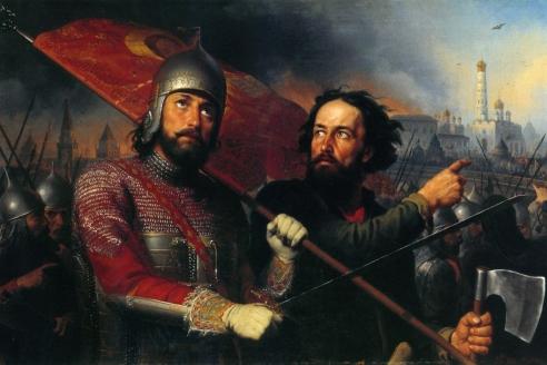 «Минин и Пожарский». М.И. Скотти. 1850 г.