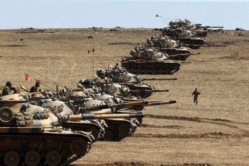 Турецкие войска в Ираке. 2015 г.