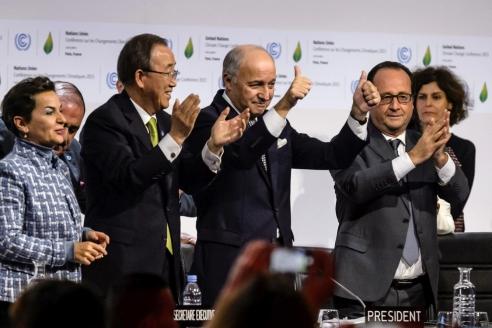 Подписание Парижского соглашения