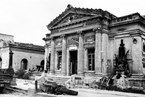 Музей Черноморского флота. Севастополь. 1944 г.