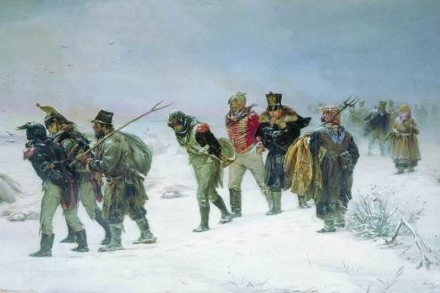 """""""В 1812 году"""". И.М. Прянишников. 1874 г."""