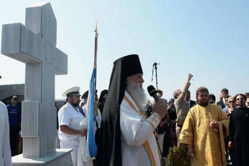 Морской поход памяти исхода белой армии из Крыма. 2010 г.
