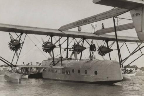 Летающая лодка Sikorsky S‑40