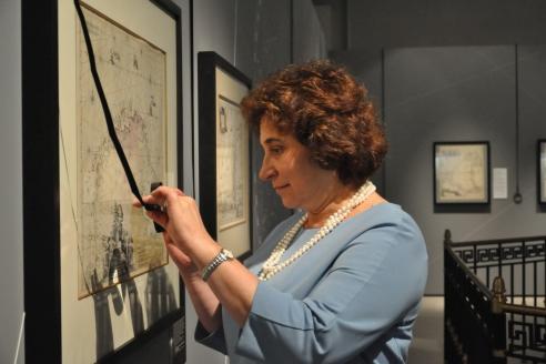 Н.Самойленко на выставке