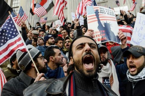 Уличные протесты против расизма в США
