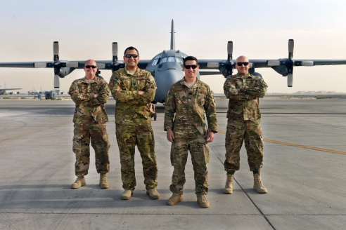 Американская военная база Al Udeid в Катаре