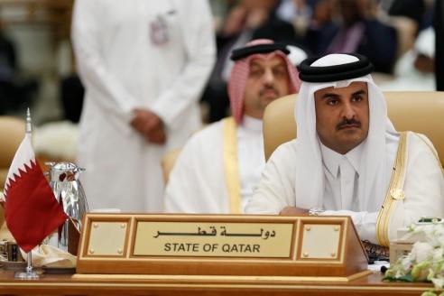 Эмир Катара шейх Тамим бин Хамад Аль Тани