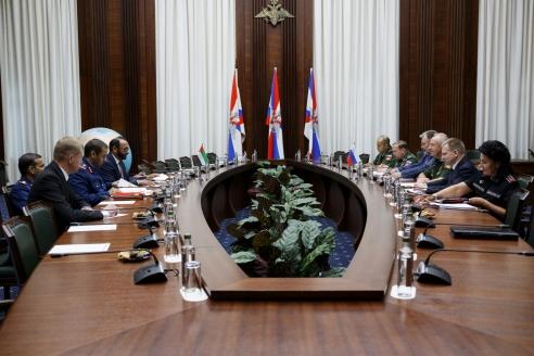 Двусторонние встречи. Объединённые Арабские Эмираты
