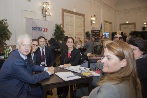 На сессии Парламентской ассамблеи ОБСЕ в Австрии. 2017 г.