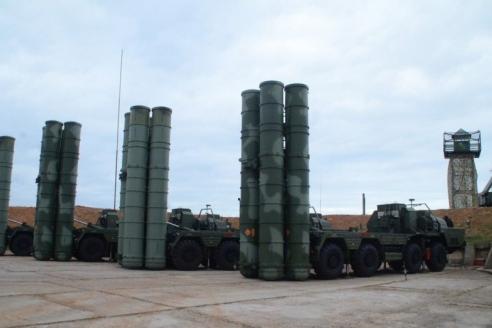 Пусковые установки (ПУ) С‑400 «Триумф» заступили на дежурство