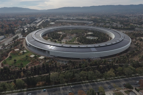 Apple park — новое здание штаб-квартиры компании Apple. Кремниевая долина