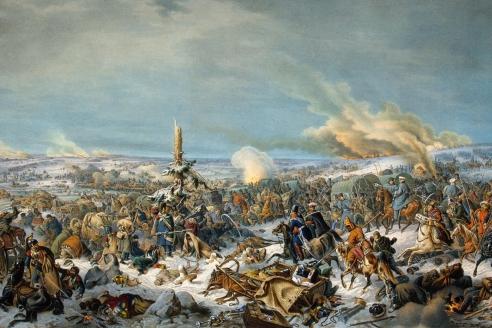 """""""Отступление  французов через  реку Березину  17 (29) ноября 1812 г."""" П. Гесс"""