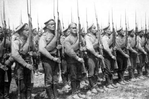 Мастера штыкового боя в Первую мировую