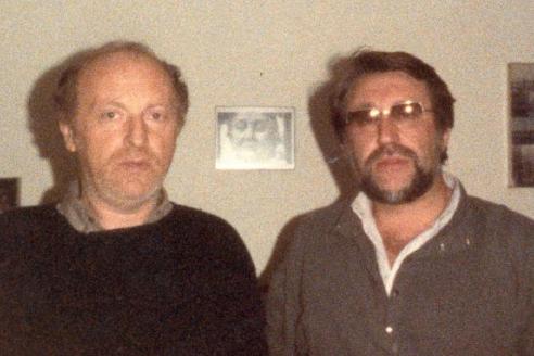 С Иосифом Бродским. Нью-Йорк. 1986 г.