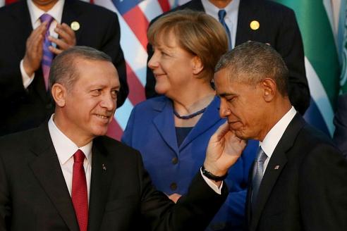 """Саммит """"Большой двадцатки"""" в Турции. 2015 г."""