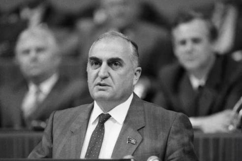 Д. Патиашвили, первый секретарь ЦК Компартии Грузинской ССР