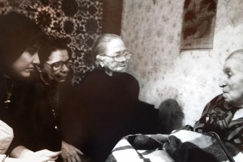 Встреча С.П. Щербаковой с К. Фигередо и Х. Вилар