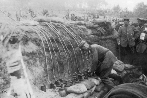 Подготовка к газовой атаке