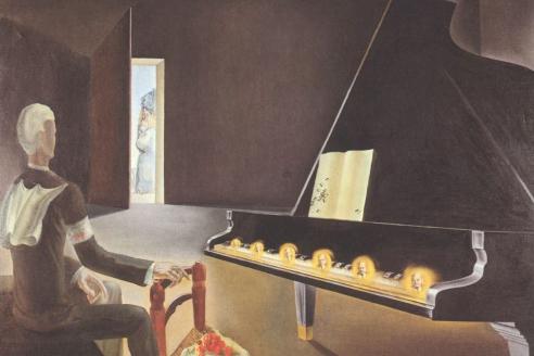 """""""Частичное помрачение. Шесть явлений Ленина на рояле"""". 1931 г."""