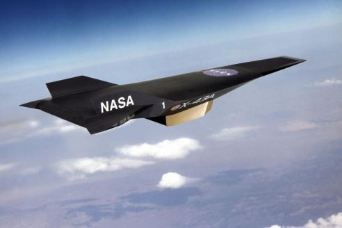 Гиперзвуковой летательный аппарат Х-43, созданный NASA в рамках программы Hyper-X