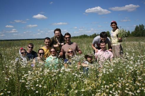 СПМЦ в рамках проведения сессии Академии сельской жизни. Сбор лекарственных трав