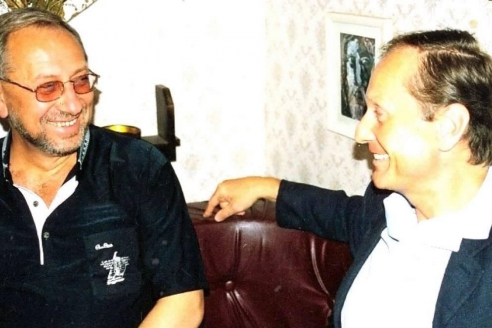 С Михаилом Задорновым