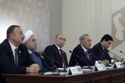 IV саммит  глав государств  Прикаспийского  региона г. Астрахань. 2014 г.