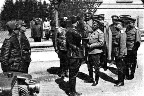 Командующий 8-й армией Юго-Западного фронта генерал-адъютант А.А. Брусилов.1915 г.