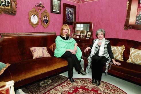 С мамой Аллой Борисовной
