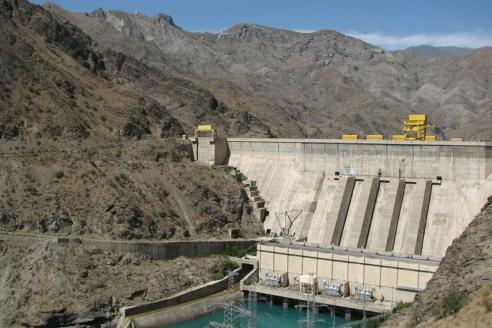 Недостроенная Камбаратинская ГЭС-1