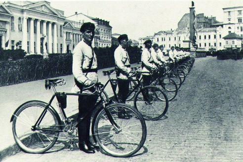 Сотрудники Харьковской милиции. 1933 г.