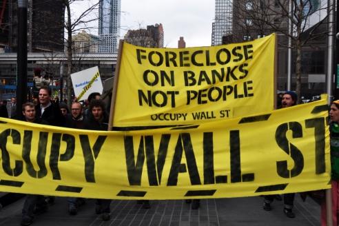 Движение  Occupy Wall Street  2012 г.