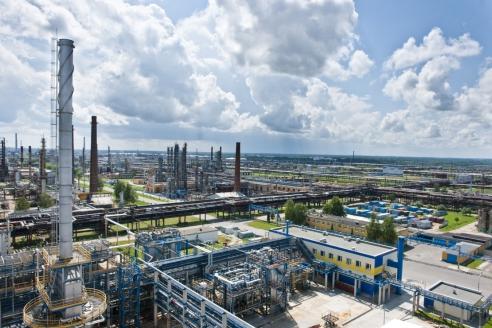 Нефтеперерабатывающий завод «Нафтан». Республика Беларусь