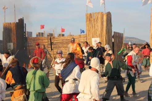 """Международный рыцарский фестиваль """"Генуэзский шлем"""" в Судаке"""