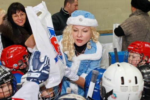 Празднование Нового года в СДЮШОР «Крылья Советов» имени И.Е. Дмитриева