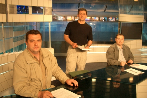 В студии «Первого канала» с Андреем Батуриным
