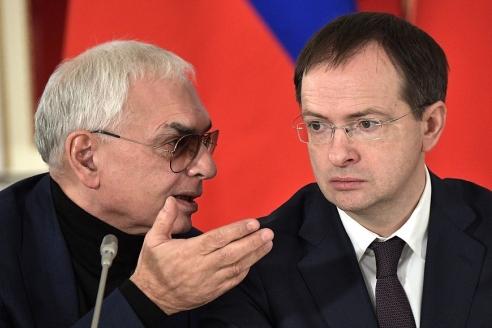 К. Шахназаров и В. Мединский