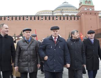 Акция памяти. Красная площадь, 5 марта 2017 года
