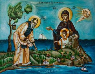Святой Пантелеймон-целитель