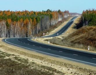 Вид трассы М58