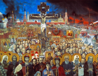«Русь Святая». И.С. Глазунов