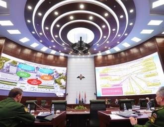 Национальный центр управления обороной России в Москве
