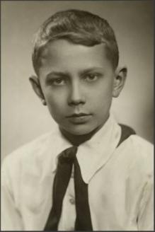 Владимир Качан в детстве