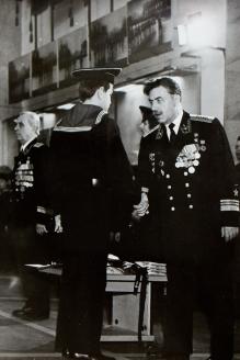 Выпуск в военно-морском училище