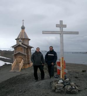 С А. Кляном на станции «Беллинсгаузен»