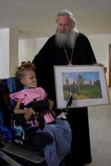 Подарок от участницы фестиваля Кати Бородулькиной