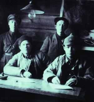 Сотрудники отдела милиции города Игарка. 1933 г.